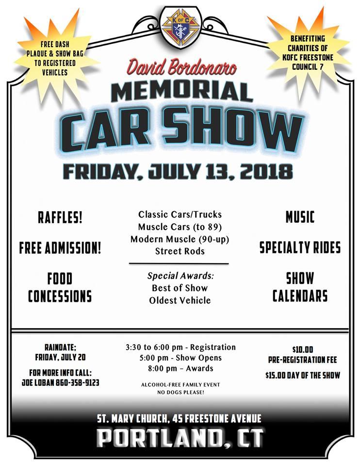 SAAC Calendar Of Selected Upcoming ShorelineArea Antique Auto Events - Fun car show award categories